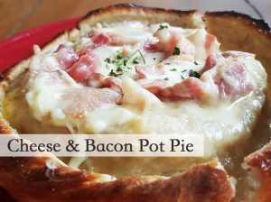 Cheese & Bacon Pot Pie