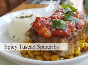 Spicy Tuscan Spareribbs